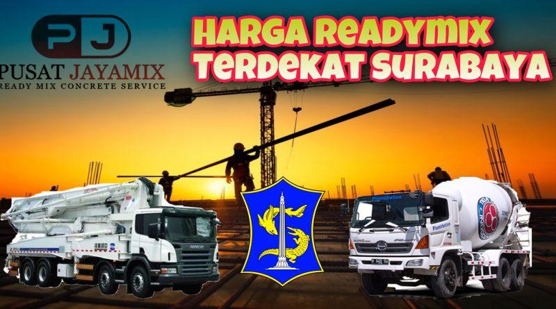 HARGA READYMIX SURABAYA TIMUR | PUSAT JAYAMIX