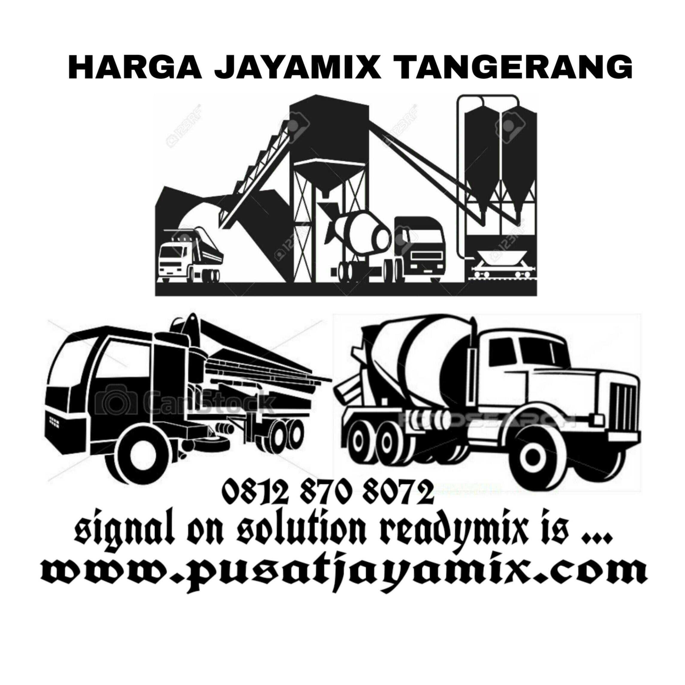 pusat jayamix kecamatan tangerang