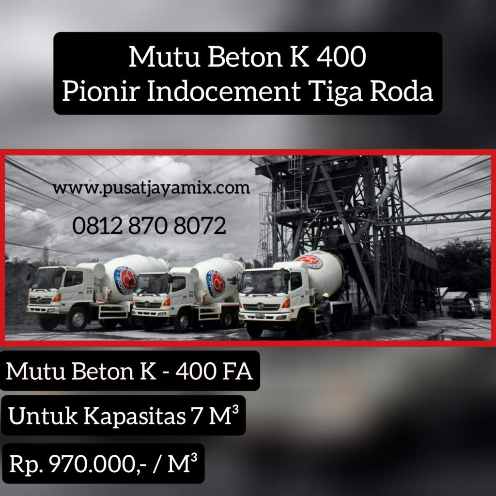 MUTU BETON K 400