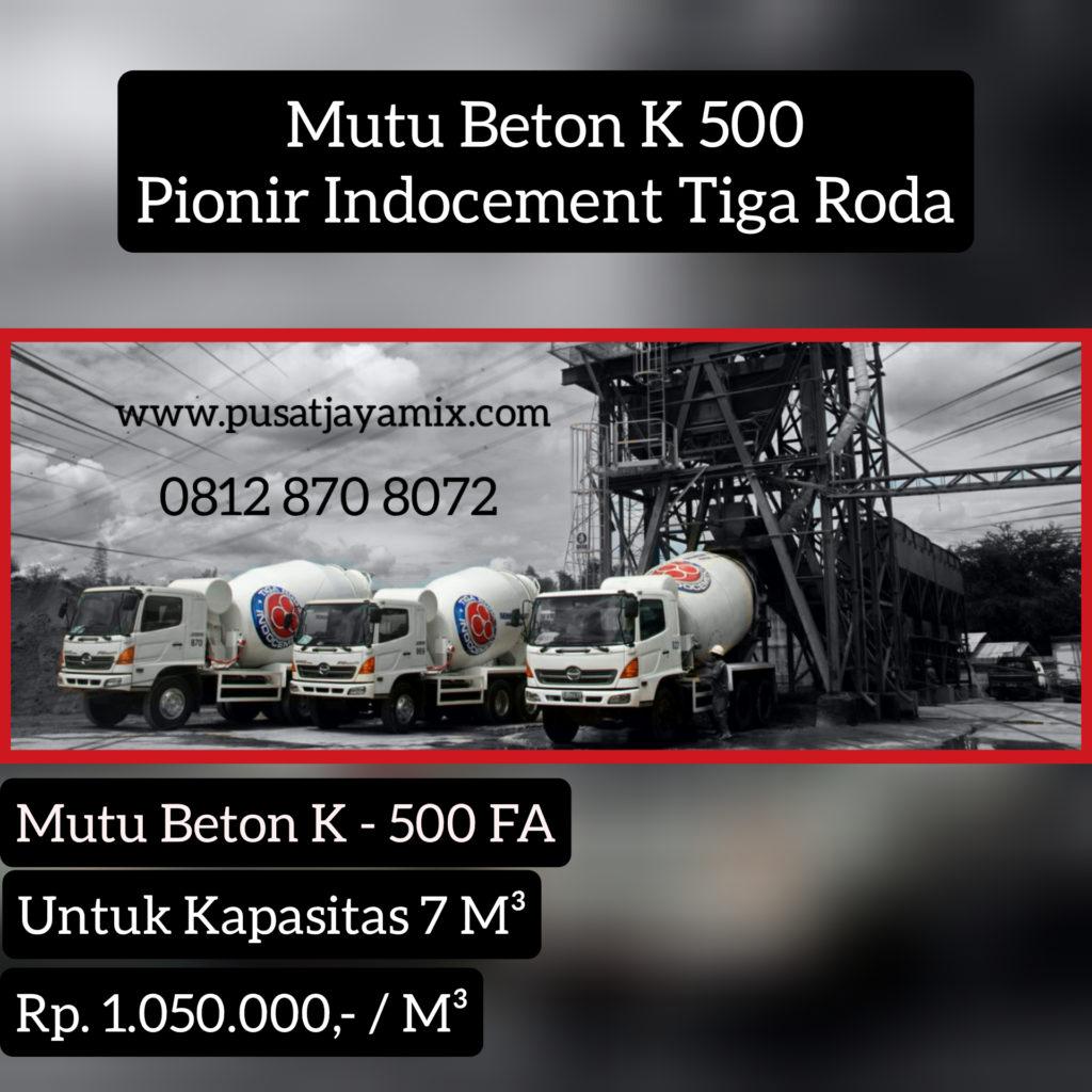 MUTU BETON K 500