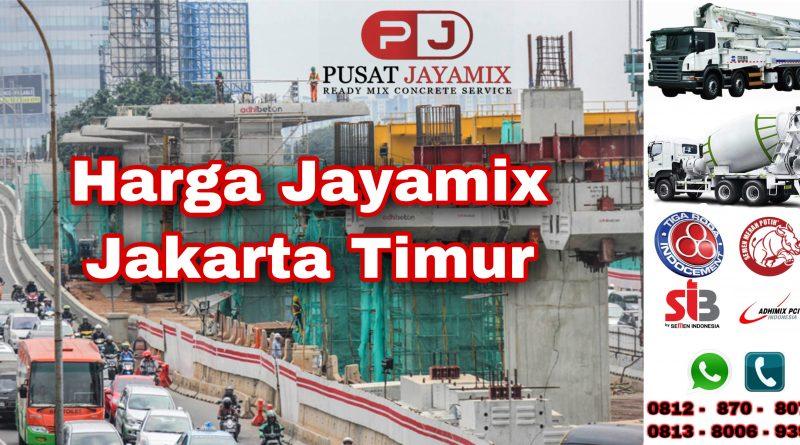 HARGA JAYAMIX JAKARTA TIMUR TERBARU | PUSAT JAYAMIX