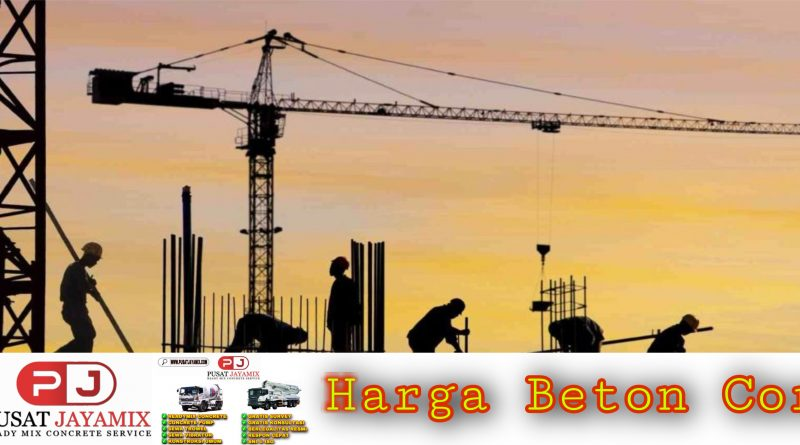 HARGA BETON COR | PUSAT JAYAMIX